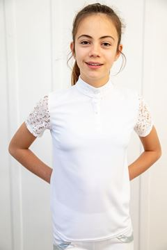 Picture of KIds shirt with lace sleeve