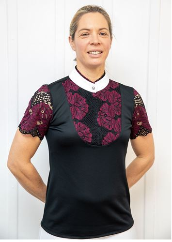 Picture of Lace front shirt